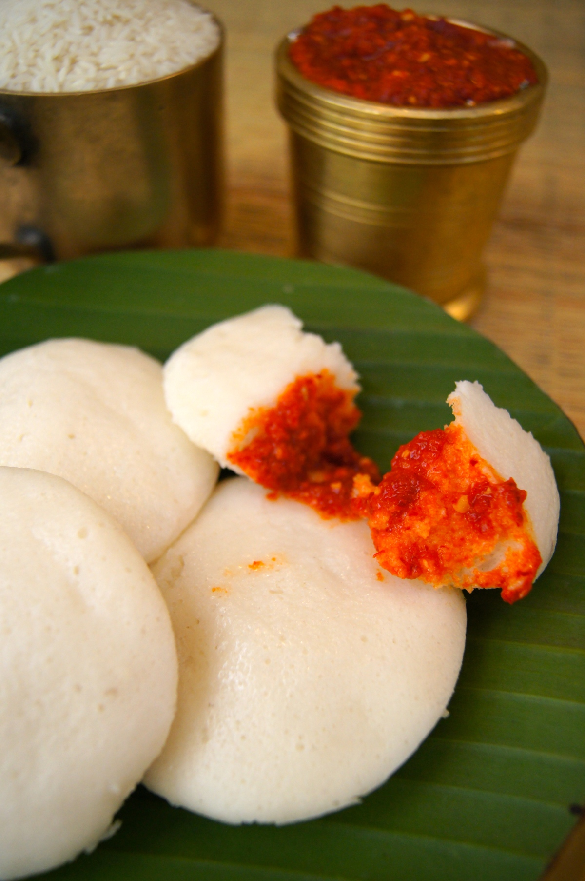 Soft Fluffy Idli!
