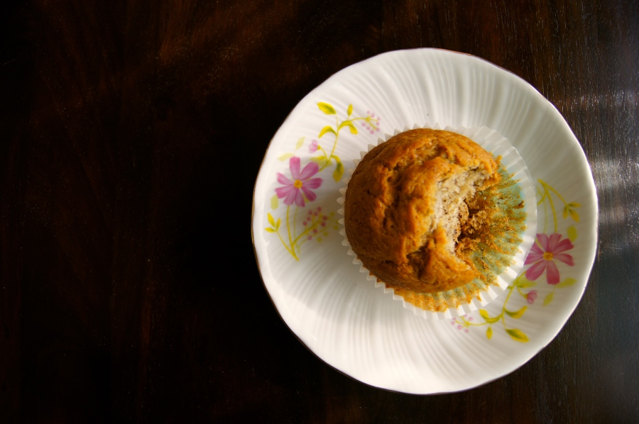 Good Old Banana Bread Muffins.. My lazy day breakfast…..