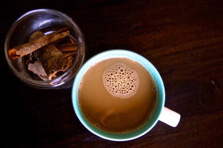 Cinnamon Vanilla Coffee