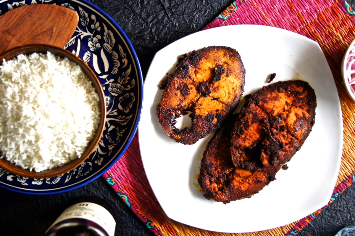 Kerala Style Fish Fry (Dedicated to my Amma for mothersday)