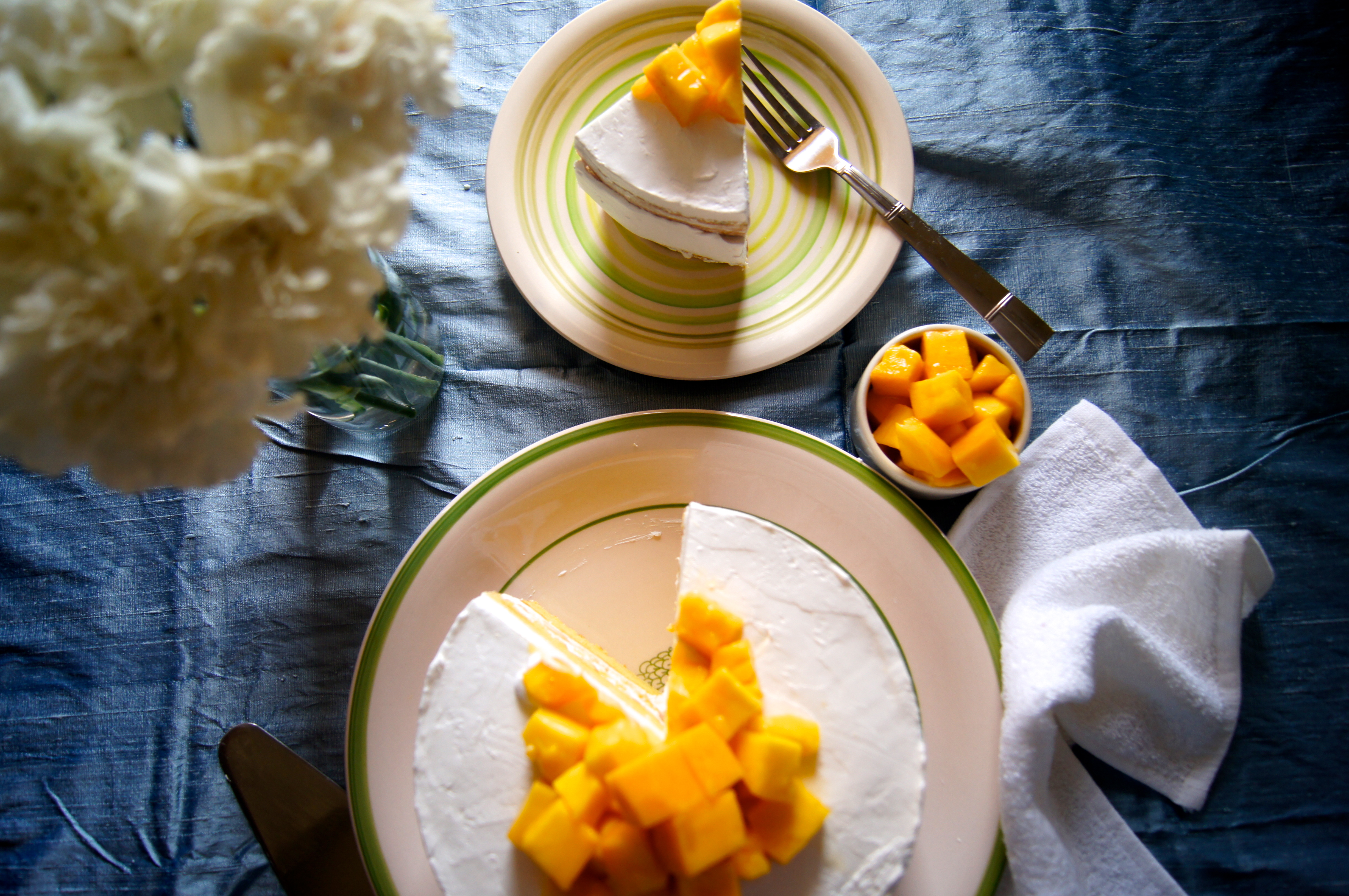 Simple Mango Cake With Hidden Mango Chunks A Cupcake For