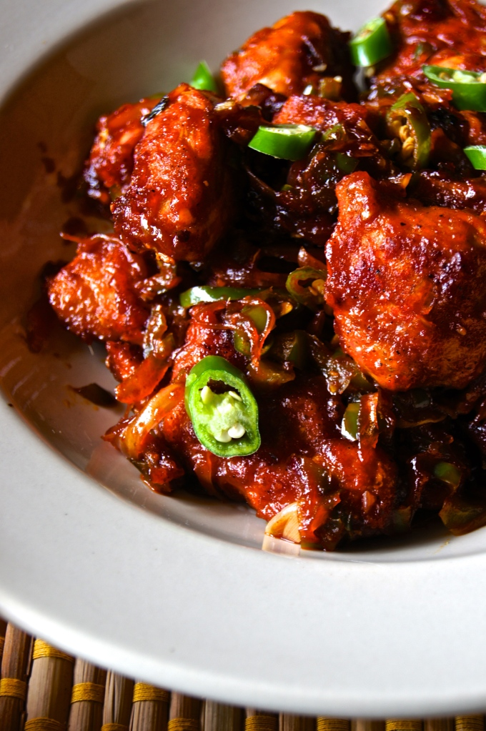Chilli Chicken / Indo Chinese Style/ Nadan Chilli Chicken