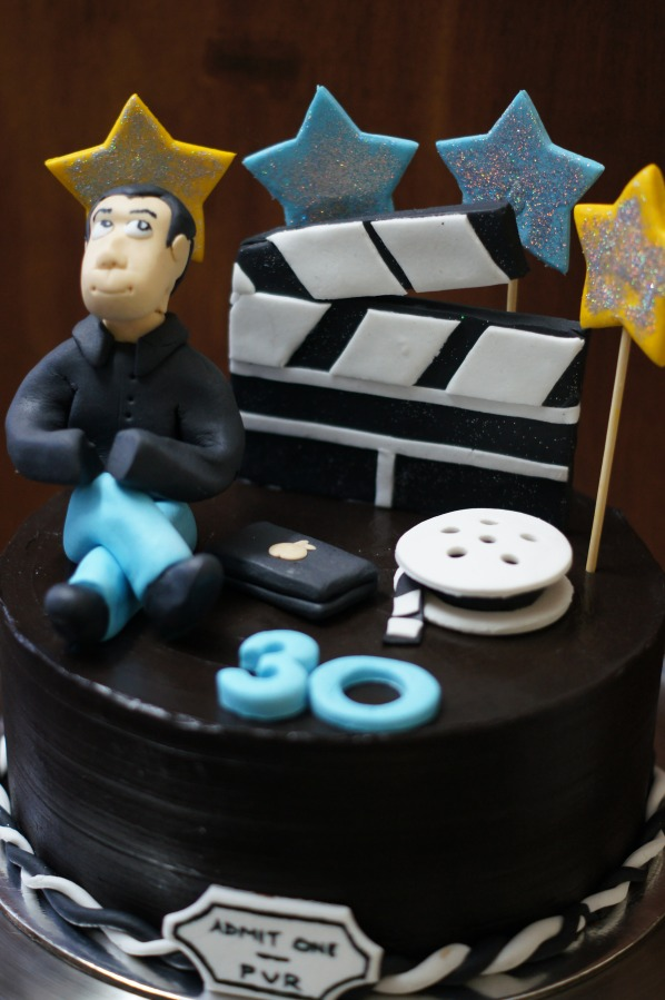 A movie cake for a dear friend!