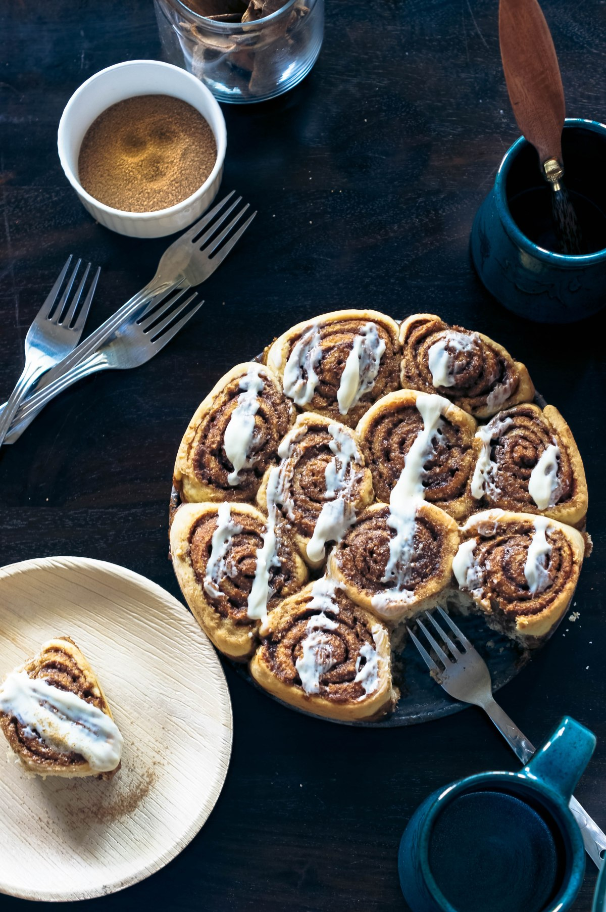 Cinnamon Rolls – With a Cream Cheese drizzle