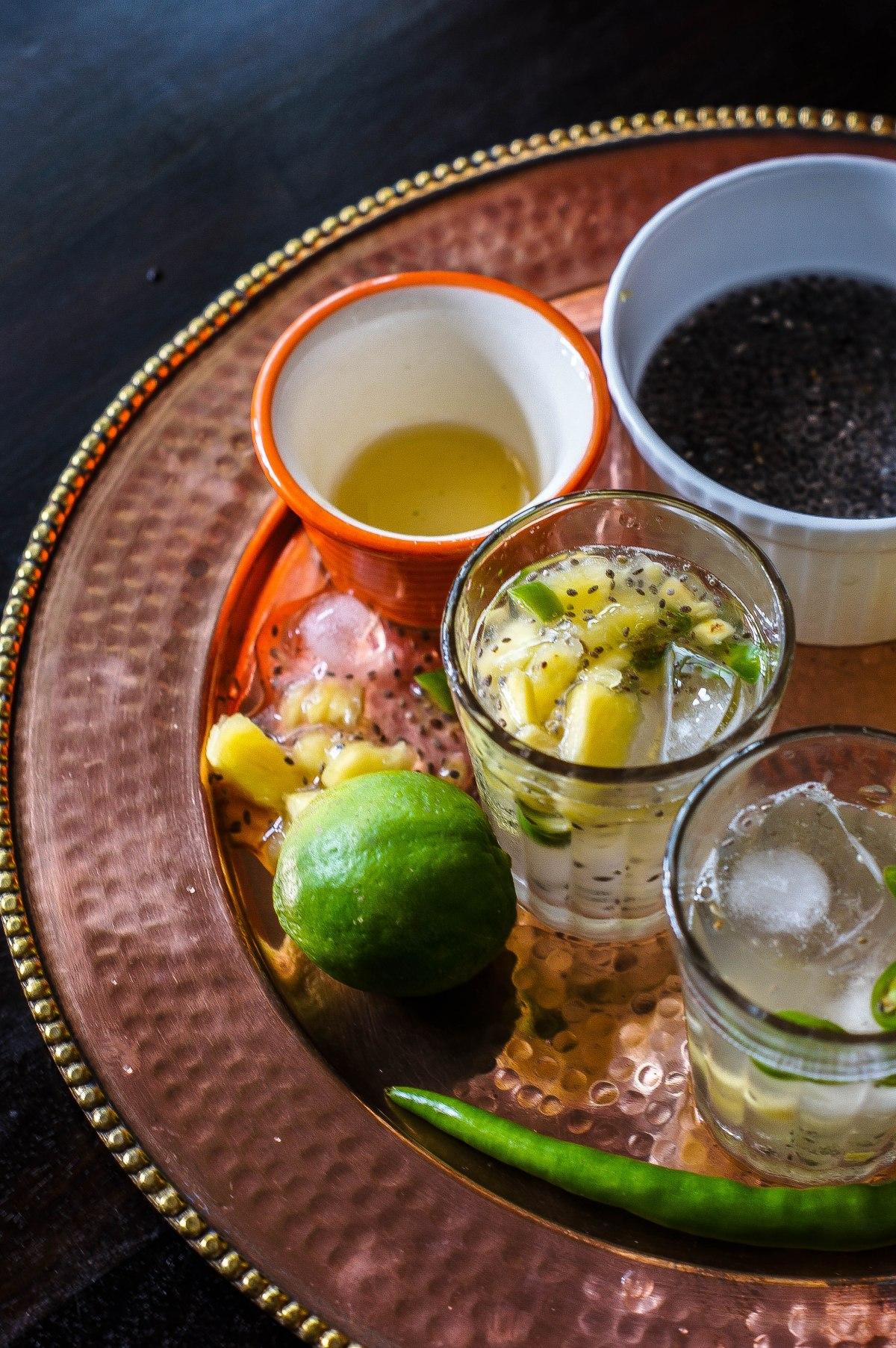 Kulukki Sherbat / Kulukki Sherbet – Pineapple & LimeSherbet