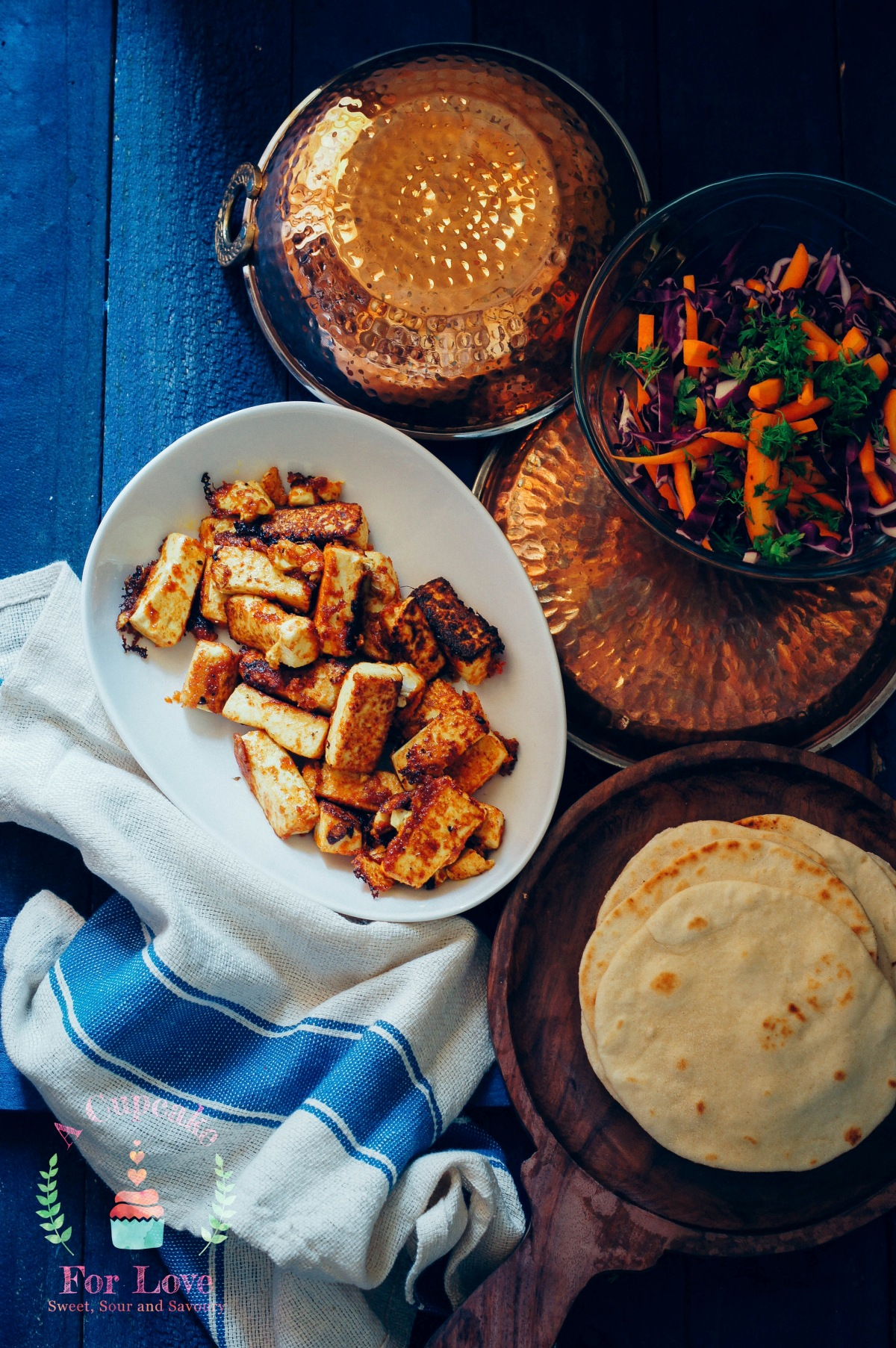 Tofu Tikka Tacos – For Taco Tuesdays