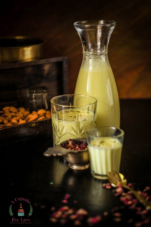 Kesar Badami Dhoodh – Almond milk infused withsaffron
