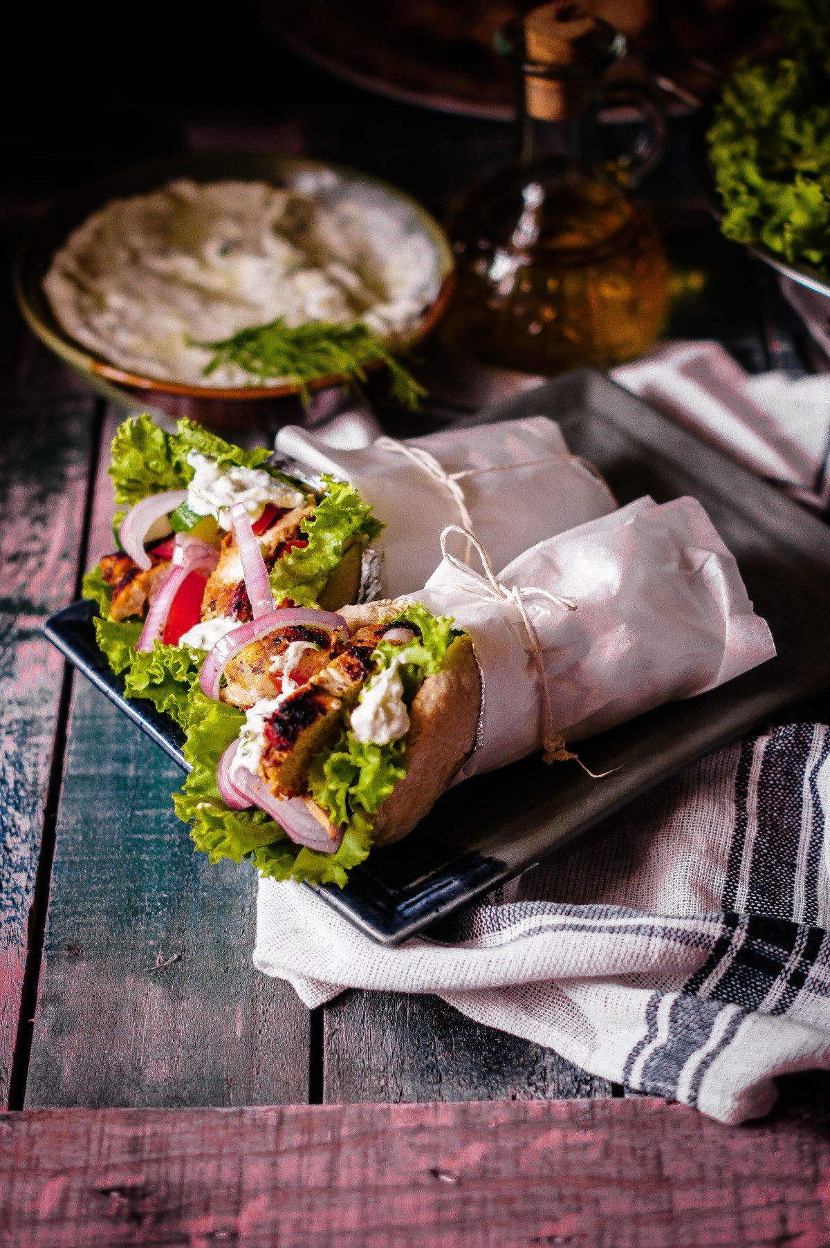 Chicken Gyro – From Scratch