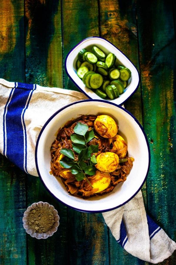 Nadan Mutta Roast – Egg roast the Malayali Way (Keralastyle)