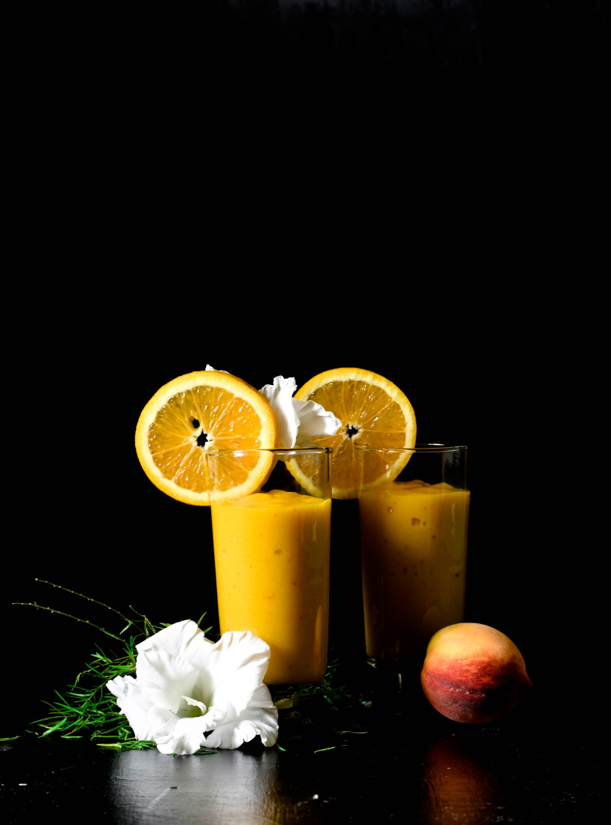 Mango, Peach and Orange Smoothie