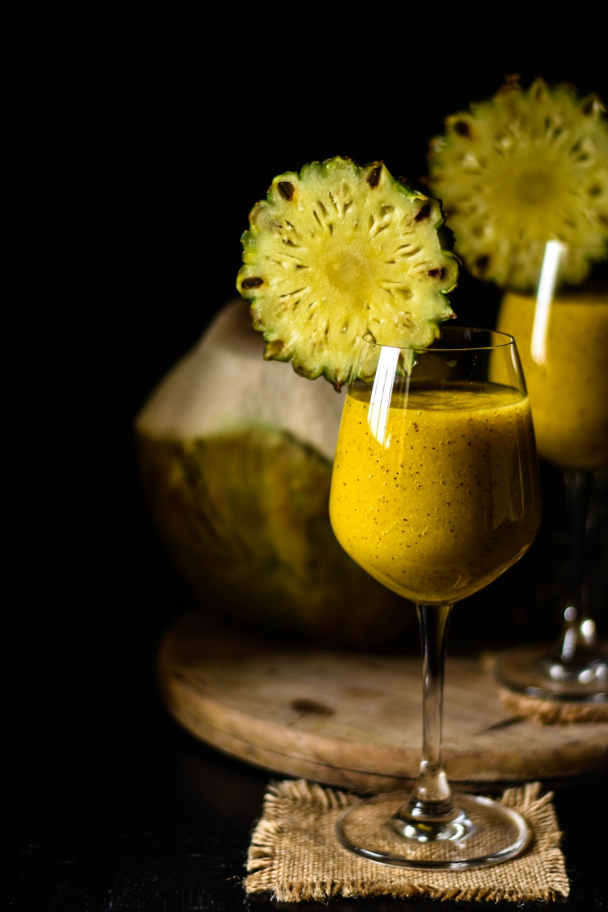 """Take me to the beach"" Smoothie !! – Kiwi, Pineapple, mango"