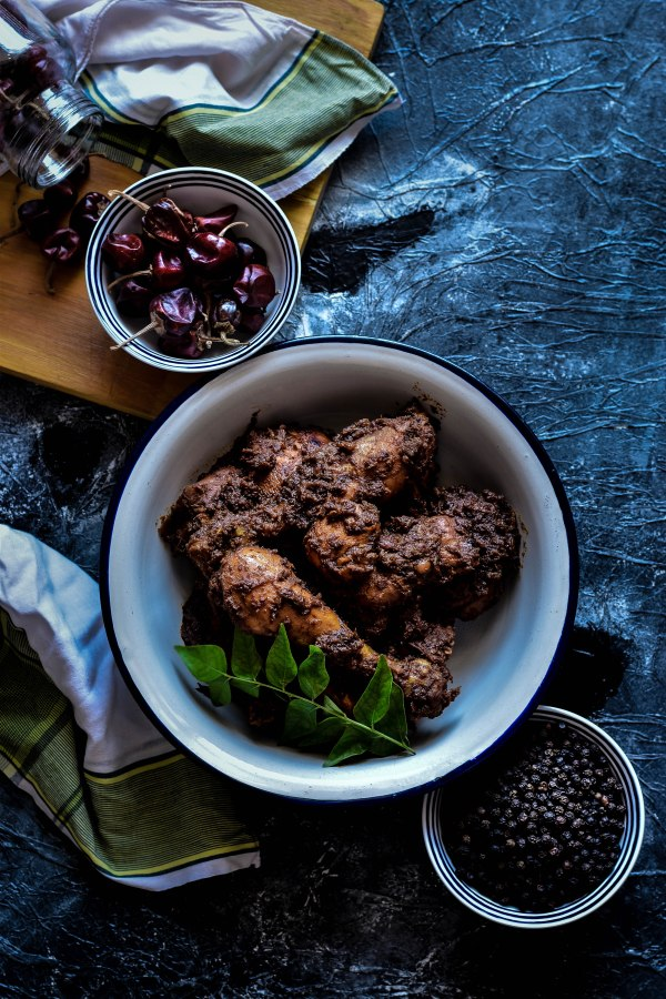 Chettinad Milagu / Pepper Chicken