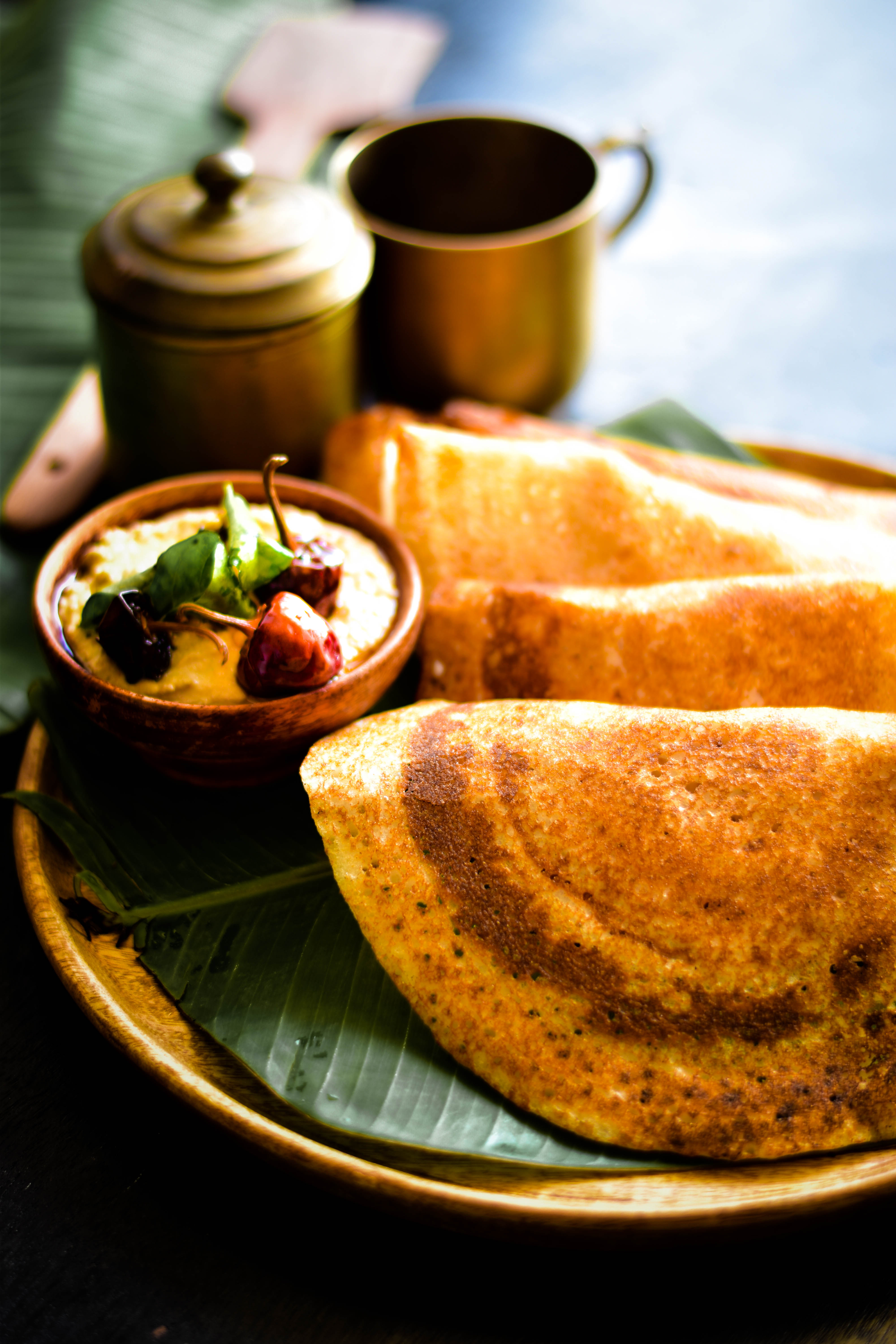 Dosa Crisp Rice Batter Crepes A Cupcake For Love