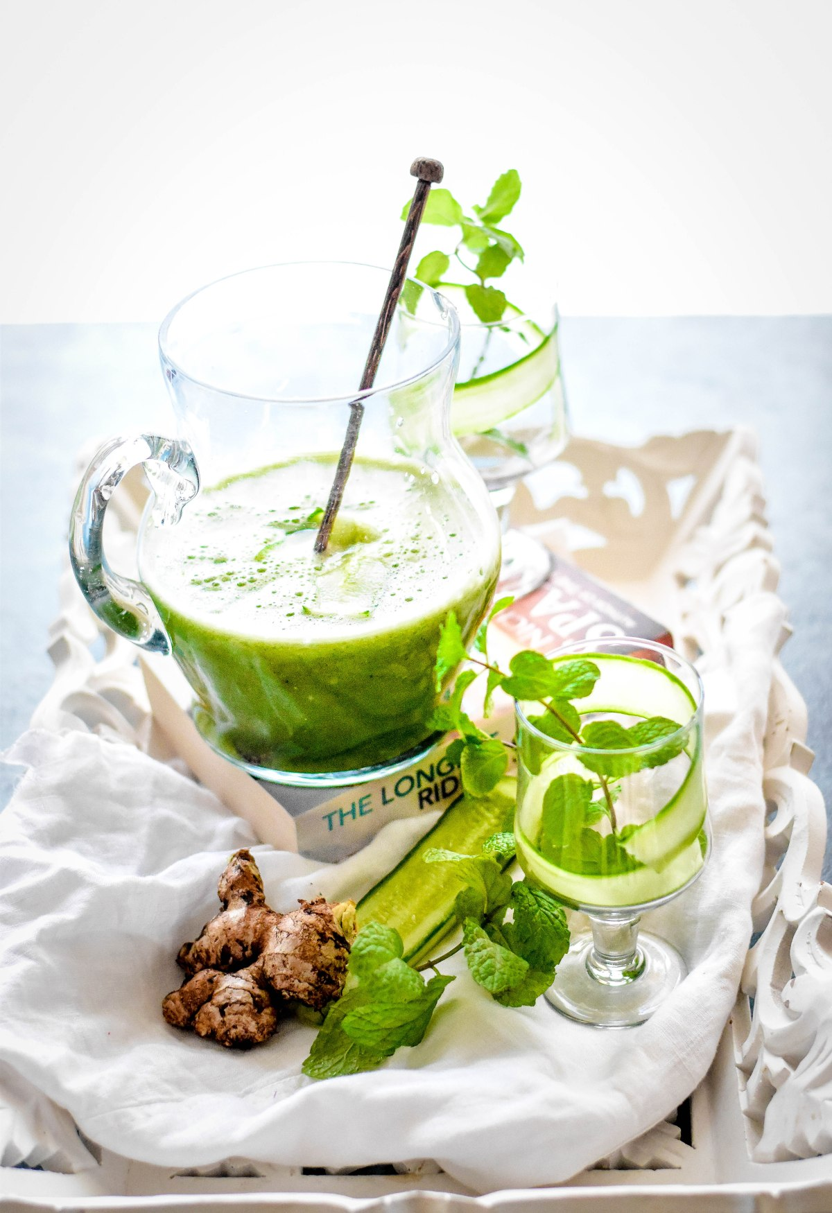 Green Cucumber MintLemonade