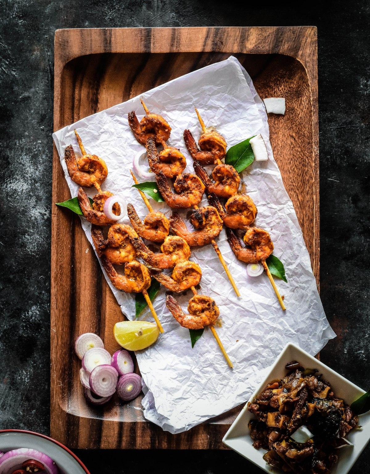 Chemmeen Roast / Kerala Style PrawnRoast