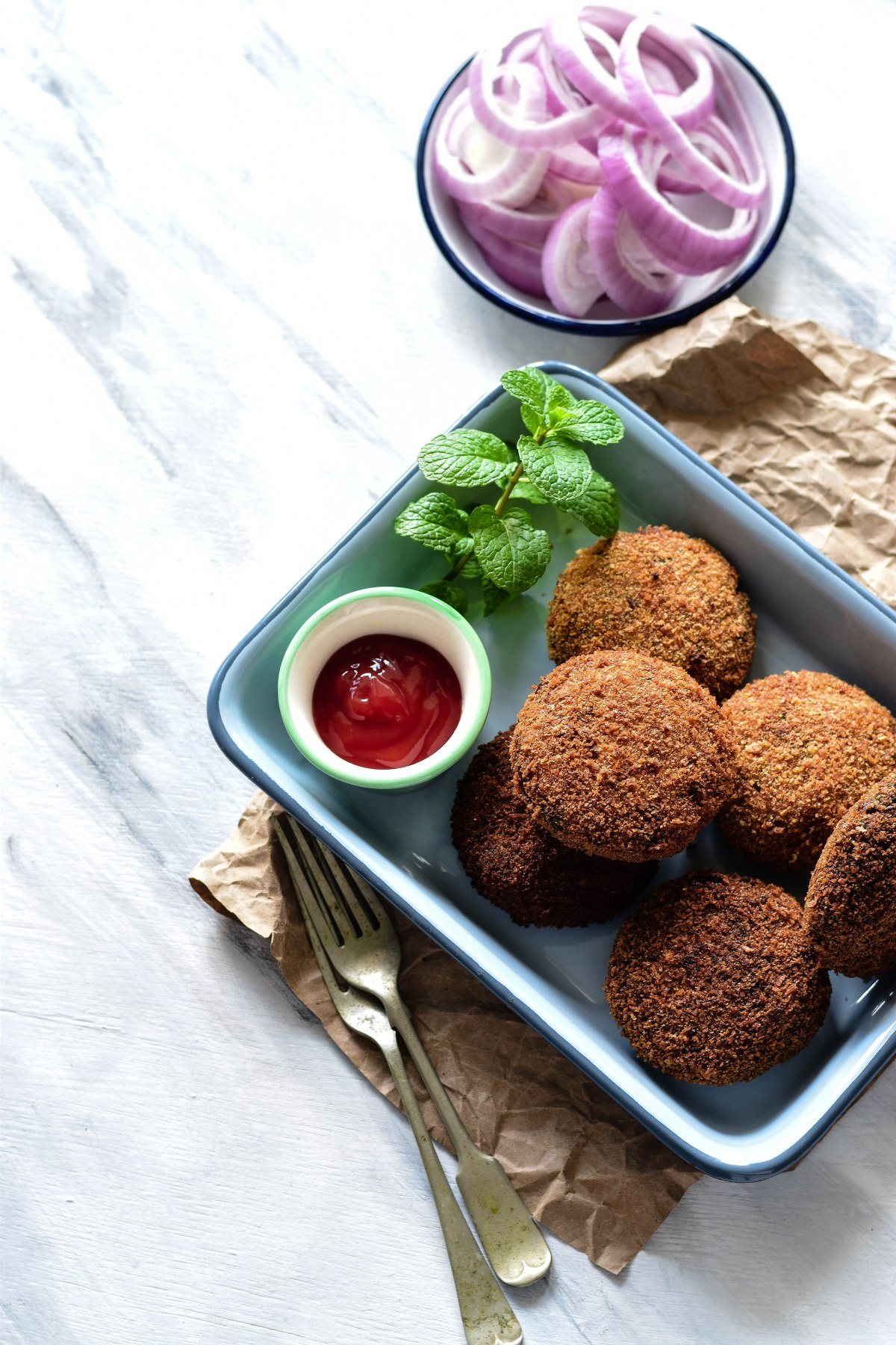 Nadan Chicken Cutlet – Kerala style Chicken Croquettes